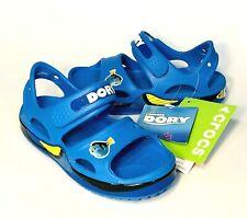 Crocs Crocband II Finding Dory Sandals Blue boys Size 11 NEW
