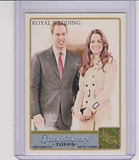 2011 ALLEN & GINTER ROYAL WEDDING KATE & PRINCE WILLIAM CARD #293 ~ MULTIPLES