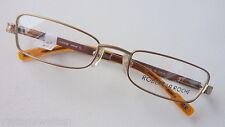 Robert la Roche Marken Metall Brille für Damen kleine flache Glasform size M