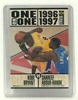 Kobe Bryant 1996 Upper Deck One on One Card #361 Los Angeles Lakers SG