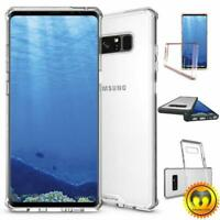 For Samsung Galaxy S8 / S8 Plus Hybrid Clear Case Protective TPU Bumper Cover