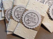 Parts4Living Freudentränen Set aus 10 Freudentränen Aufklebern Taschentüchern