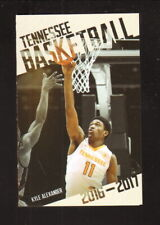 Tennessee Volunteers--2016-17 Basketball Pocket Schedule--UT Medical Center