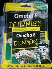 Card Game OMAHA 8 FOR DUMMIES Guidebook Teaching Deck Playing Cards