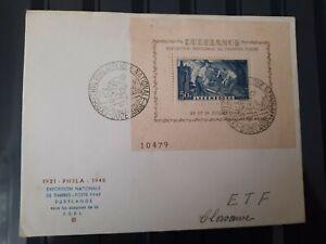Luxemburg 1946 - FDC - Block Nr6 -SELTEN!!