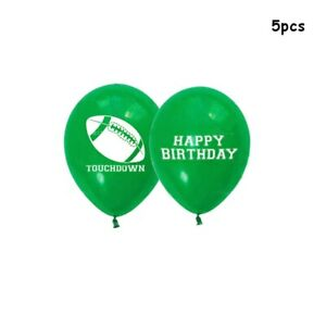 5/10Pcs12 Inch Rugby Theme Latex Balloon Birthday Party Celebration Decoration e