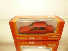 DANDY TOMICA 036 TOYOTA COROLLA SEDAN 4-drs - RED  1:43 - GOOD CONDITION IN BOX