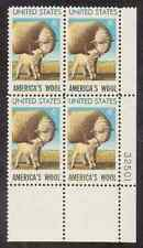 Scott #1423.... 6 Cent...Sheep/Wool...25 Plate Blocks of 4...100 Stamps