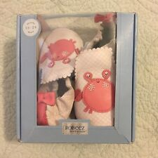 New Robeez Soft Soles Toddler Shoes Crabs Size 6 New In Box