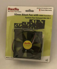 Rexflo 92mm Silent Case Fan w/ 4 pin fan power connector and PWM function