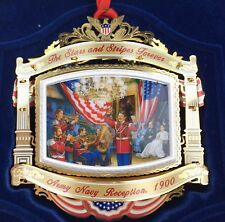 2010 White House Historical Association McKinley Christmas Ornament Music Theme