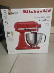 NEW KitchenAid Artisan Tilt-Head Mixer- 5 Quart -4.7 l - RED