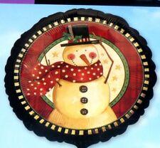 """18"""" CHRISTMAS  XMAS FOIL BALLOON - COSY SNOWMAN"""