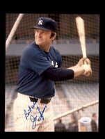 Jim Spencer JSA Coa Hand Signed 8x10 Yankees Photo Autograph