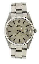 Rolex Oysterdate Precision Stainless Steel Watch 6494