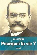 Pourquoi la Vie ? : Solution Rationnelsolution Rationnelle du Problème de...