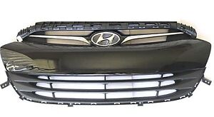 2013 to 2016 Genesis Coupe Front Grille Upper & Lower Grille With Molding 3 Pcs