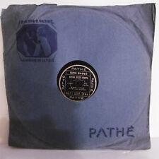 78T SAPHIR 29cm Disque ALIBERT Empire Phono ENTRE DEUX PONTS Chanté PATHE 94061