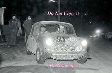 Paddy Hopkirk Mini Cooper S ORX 777F Monte Carlo Rally 1968 Photograph 1
