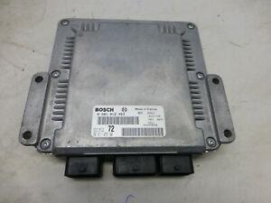 Peugeot 807 HDi BJ 2006 Motor Steuergerät Bosch 0281012463 9661145580
