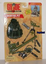 """GI Joe Classic Collection Mortar Pit Mission Gear Set For A 12"""" Action Figure"""
