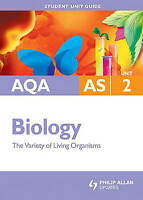 Good, AQA AS Biology Student Unit Guide: Unit 2 The Variety of Living Organisms
