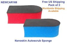 NANOSKIN AUTOSCRUB PREP SPONGE CLAY  COMBO  2-Pack  FREE FAST SHIPPING.