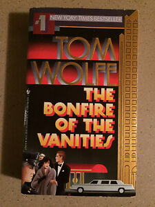 The Bonfire of the Vanities by Tom Wolfe (1988, Mass Market Paperback)
