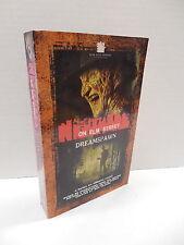 Nightmare On Elm Street Novel Dreamspawn Book Freddy Krueger Christa Faust