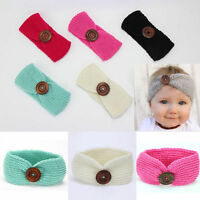 Headband Hair Band Infant Turban Accessories Crochet Baby Kid Headwear Girl