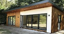 STOMHAUS LOG CABIN/GARDEN OFFICE/STUDIO/GRANNY ANNEX PRICE IS PER SQ.M INSTALLED