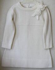 BABY DIOR CREAM CASHMERE BLEND DRESS 24 MONTHS