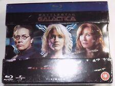 BATTLESTAR GALACTICA THE COMPLETE SERIES New 20-Disc BLU-RAY Box Set Region-Free