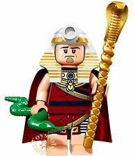 LEGO MINIFIGURES SERIE THE BATMAN MOVIE 1 - KING TUT 71017 - ORIGINAL MINIFIGURA