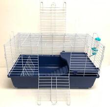 Large 2-Level Deluxe Pet Habitat Cage For Guinea Pig Rabbit Chinchillas Ferrets