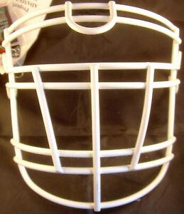 Facemask, Gesichtsgitter, RJOP-UB-DW-XL Titan, weiß, OL, DL, Neu, Adams