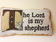 "The Lord Is My Shepherd Pillow - 12"" x 7"" Pillow"