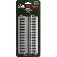 Kato 2-130 Rail Droit / Straight Track 174mm 4pcs - HO