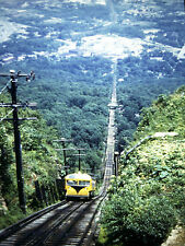 1950's Incline Railway Rock City Tennessee 35mm Slide Original Red Kodachrome