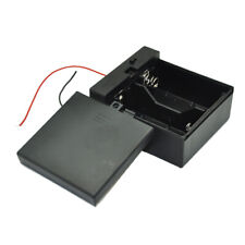 2 D Size Dc 2 Cells Battery Power Supply Holder Case Box with Wire Cover Diy