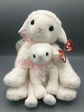 Ty Beanie Buddy and Babies Bundle Lullaby the Sheep Pair Plush Stuffed Animal