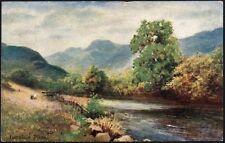 Postcard - Cumbria - Langdale Pikes