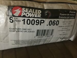 Engine Piston Sealed Power 1009P 60 (Qty of 6 Pistons)