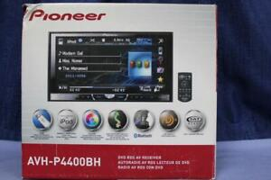 Pioneer AVH-P4400BH DVD RDS in-Dash Receiver Bluetooth USB HD Radio Remote Contr
