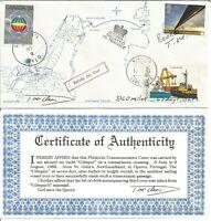 RARE TOM McCLEAN SAILING BOAT YACHT GILTSPUR ATLANTIC SEA CROSSING COVER