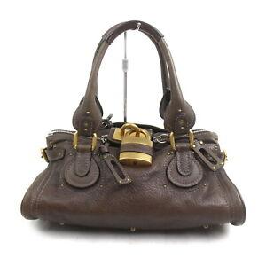 Chloe Hand Bag Paddington Browns Leather 1717668