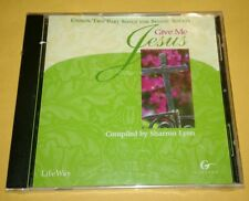 Give Me Jesus (2000, CD) Compiled By Sharon Lynn Small Crack Case New Sealed