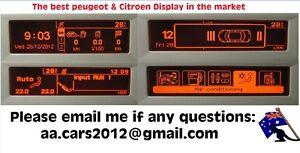 PEUGEOT and CITROEN RD4 RADIO MULTIFUNCTION SCREEN( C Screen)