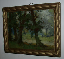 Waldstück. Polnischer Maler...adkowski (?)