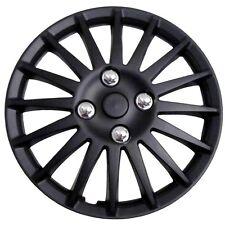 """Enjoliveur de roue de voiture noir black mercure 15"""""""" pack de 4"""